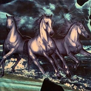 Other - 🌺 Horse throw blanket